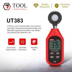 UNI-T ut383 handheld digital iluminância medidor de luminância medidor luminância instrumento luminosidade teste ambiental