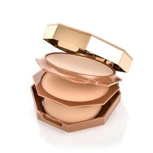Nature Full Coverage Face Powder Long Lasting Waterproof Powder Face Up New Make Tools Compact Pressed Foundation Layer Dou X2H7