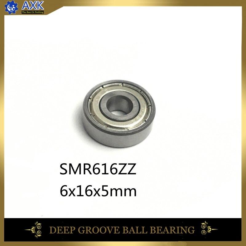AXK  SMR616ZZ  Bearing ( 10pcs)  6X16X5 B6-63Z 440C Stainless Steel Bearings Deep Groove Ball Bearings