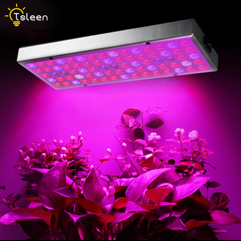 цена на LED Grow Light Full Spectrum 45W Ultrathin Hanging Growing Lamps Red+Blue+UV+IR for Indoor Plants Greenhouse Hydroponic