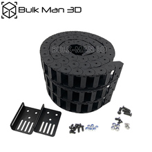 15x30 мм комплект цепи с открытым кабелем, пластиковая проволочная буксирная передача для станок ЧПУ QueenBee / WorkBee / LEAD