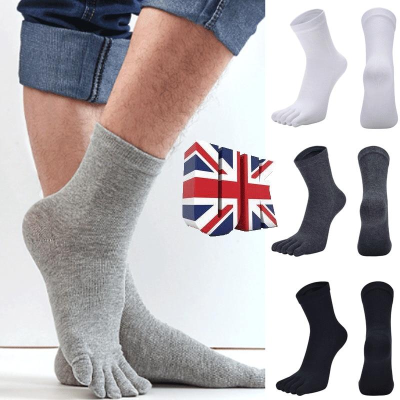 Мужские повседневные носки-чулки из бамбукового волокна, носки для работы в деловом стиле