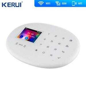 Image 4 - KERUI W20 Mẫu Mới Không Dây 2.4 Inch Cảm Ứng WiFi GSM An Ninh Hệ Thống Báo Trộm Ứng Dụng RFID Mini Di Động PIR cảm Biến Còi Hú