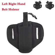 Concealed Belt Holster Handguns Compact Universal-Gun Military Tactical Left Right