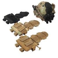 Bolsa tático mk2 bateria caso para capacete camo caça airsoft capacete sacos de bateria|Malotes| |  -