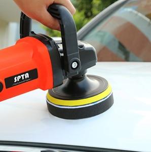 Image 3 - SPTA Car Beauty Waxing Polishing Discs Auto Car Polishing Pad Kit for Car Polisher With M14 ThreaCar Polishing Tools Accessories