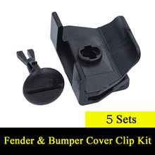 Front-Cover Toyota for Camry Corolla Lexus/Clip/5sets Black High-Quality Durable Universal