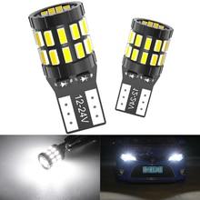 2Pcs W5W 30-3014 SMD Auto T10 LED 194 168 Cuneo di Ricambio Reverse Strumento Lampada di Pannello Bianco Blu lampadine Per Luci di Ingombro