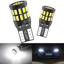 2 pièces, cale de panneau d'instrumentation de voiture W5W 30-3014 SMD T10 LED 194 168, pièces, ampoules blanches, bleues, pour feux de liquidation