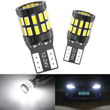 2x Canbus T10 LED W5W 168 194 Clearance Parking Lights For Mercedes Benz W211 W221 W220 W163 W164 W203 C E SLK GLK CLS M GL
