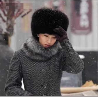 2019 Новый стиль осень-зима Для женщин Винтаж теплая дутая куртка из искусственной норки меховые шапки-бомберы женский Harajuku Винтаж люксовая модель; лисий мех; Шапки V652
