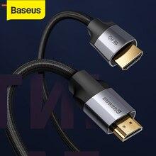Baseus كابل HDMI 4K 60HZ HDMI إلى HDMI 2.0 تمديد الخائن كابل للتلفزيون التبديل العارض محمول مكتب الفيديو كابل HDMI