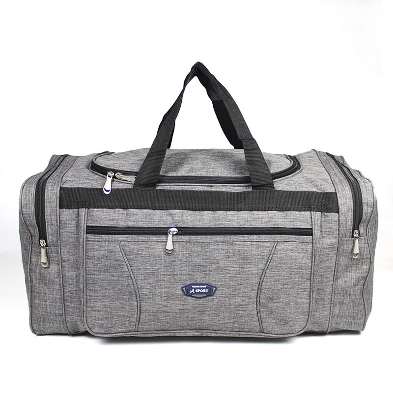 Women Men Oxford Travel Duffel Bag Carry On Luggage Bag Men Tote Large Capacity Weekender Gym Sport Holdall Overnight Bag XA189K