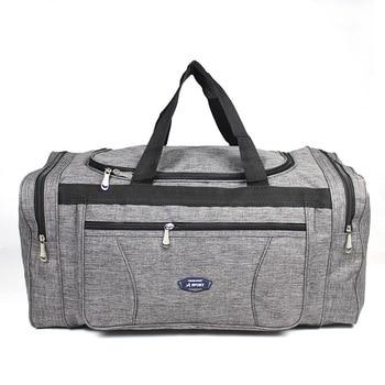 Women Men Oxford Travel Duffel Bag Carry on Luggage Bag Men Tote Large Capacity Weekender Gym Sport Holdall Overnight Bag XA189K Bags & Shoes