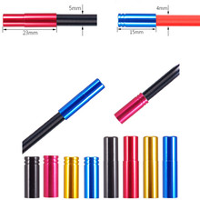 10PCS End Cap Housing Spare Parts Mountain Bike Bicycle Cable Line Tips Replacement Accessories 15*4*4mm / 23*5*5mm