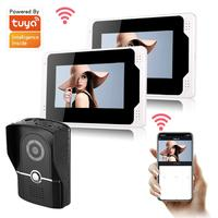 Multi Language Smart Video Doorbell Tuya APP Remote Dual Way Conversation Door Phone 1080P HD Video Surveillance Door Intercom