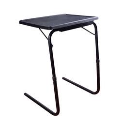 Wysokość regulowana stojąca biurko na laptopa lekki plastikowy stolik pod komputer solidna stal nogi z 3 kątami nachylenia pulpitu