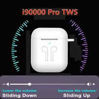 Auriculares i90000 TWS Pro Bluetooth 5,0 auriculares inalámbricos de uso separado auriculares súper graves 8D para todos los teléfonos inteligentes PK i500 i5000 TWS