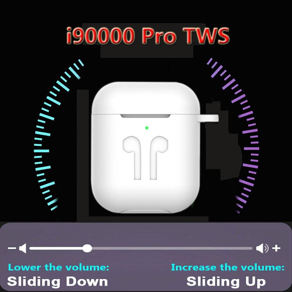 I90000 TWS Pro Bluetooth 5.0 écouteurs utilisation séparée sans fil écouteurs 8D Super basses écouteurs pour tous les smartphones PK i500 i5000 TWS