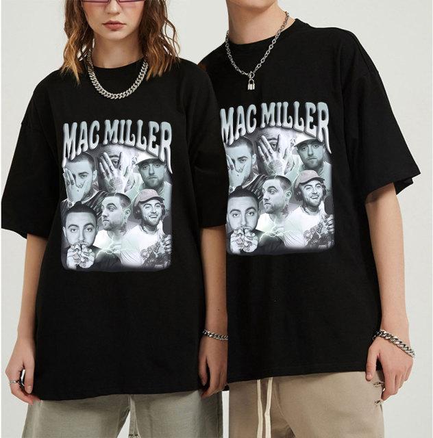 Mac Miller Graphic Oversized T Shirt  1