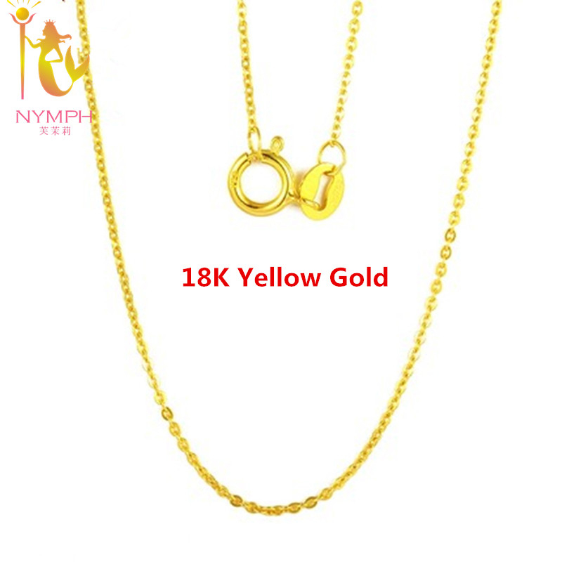 Pure 18K yellow gold