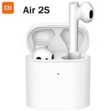 Xiaomi airdots pro 2s tws mi verdadeiro fones de ouvido sem fio ar 2s lhdc controle da torneira dupla mic enc suporte carregamento sem fio