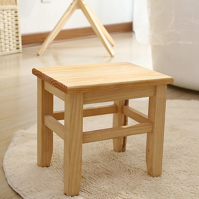 Multi-Function Solid Wood Bench  5