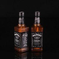 Новинка Зажигалка Jack-danel Wiskey бутылка ветрозащитная и многоразовая Бутановая Зажигалка для студийного фона