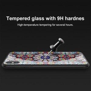 Image 2 - الزجاج المقسى حقيبة لهاتف أي فون iPhone XS Max ماكس X XS XR Nillkin الفاخرة دريم لاند تألق حامي الغطاء الخلفي ل فون XS ماكس حالة