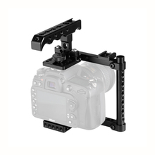 캐논 600D 70D 80D (오른손 장착) 용 톱 치즈 핸들 및 슈 마운트가있는 Kayulin 카메라 케이지 키트