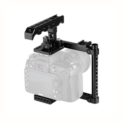 Kayulin Camera Cage Kit With Top Cheese Handle & Shoe Mount For Canon 600D 70D 80D (Right-hand Mounted)
