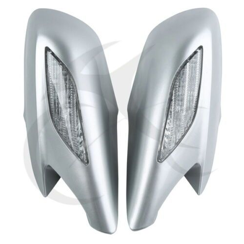 Motocycle Rear View Mirrors Clear Turn Signals Lens For Honda ST1300 2002-2011 Plastic 8 Colors