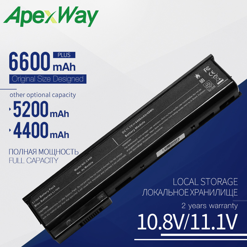 Laptop Battery For HP ProBook 640 G0 G1 CA06 CA09 HSTNN-LB4X HSTNN-115C HSTNN-IB4W Free Shipping
