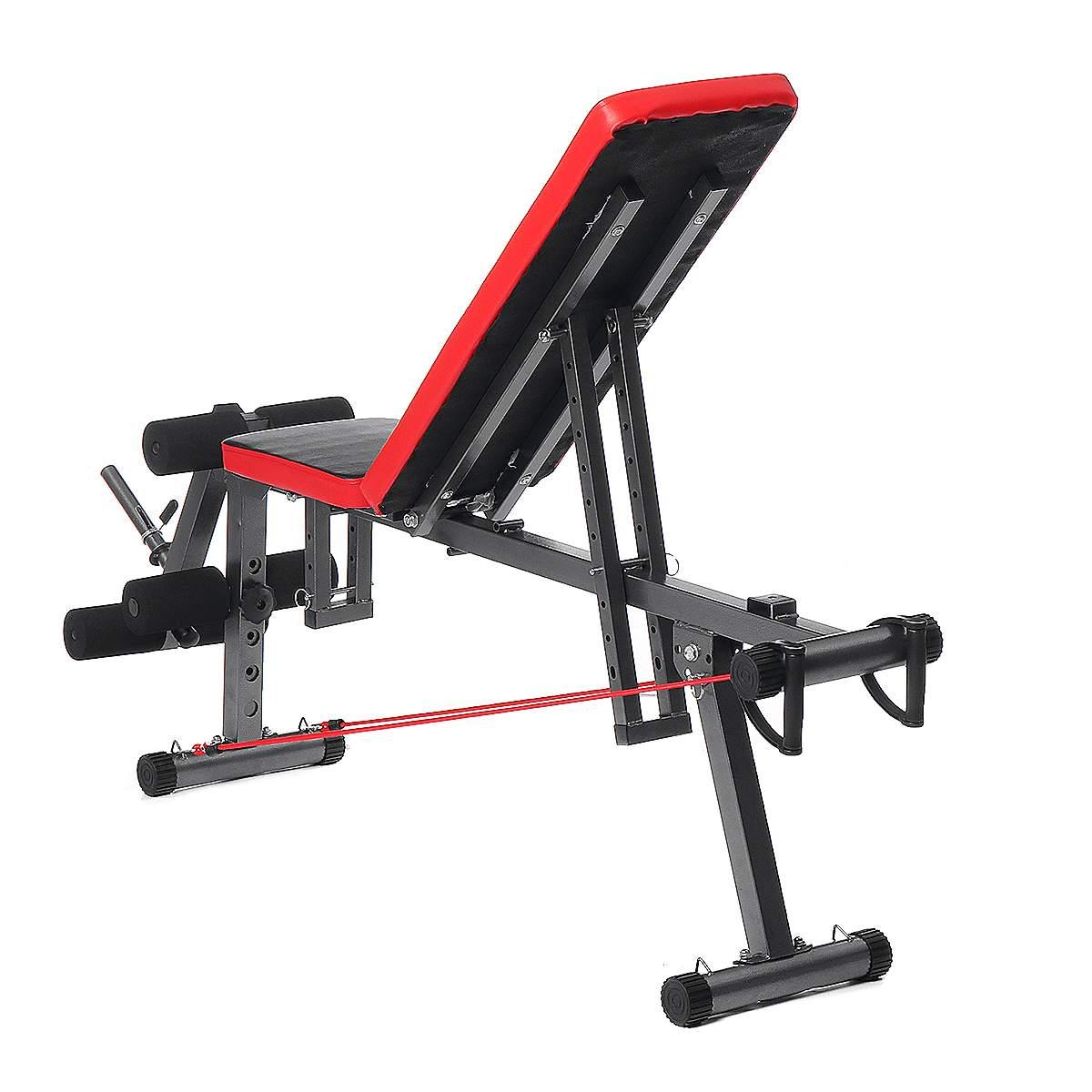 Banc d'entraînement de remise en forme en acier multifonctionnel Durable Stable et confortable - 5