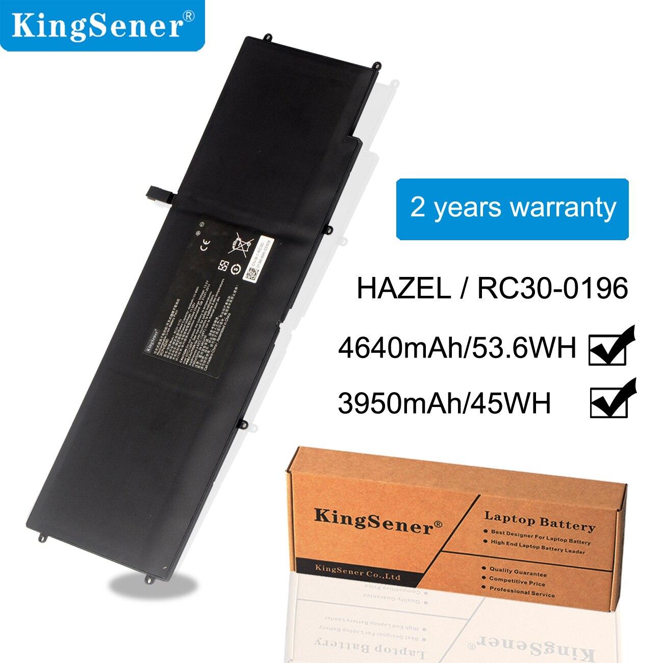Kingsener HAZEL RC30-0196 RZ09-0196 Laptop Battery For Razer Blade Stealth 2016 V2 I7-7500U 13.3