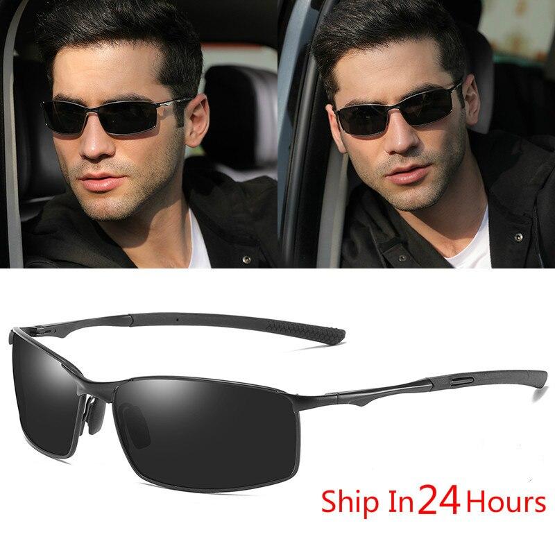 BOOROOT сплава поляризованные солнцезащитные очки для мужчин и женщин, солнцезащитные очки, поляризационные, Модный классический дизайн UV400 на...