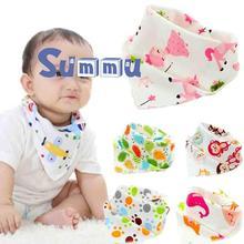 Разнообразие моделей детской треугольники на выбор модные простой хлопок мягкий Baby кормления слюна полотенце