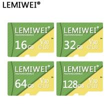 Cartão de memória, alta resistência 16gb 32gb 64gb 128gb v30 UHS-III c10 lemiwei tf cartão flash de vídeo cartão de armazenamento para dvr/dashcam
