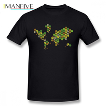 Catan T Shirt The Nations Of T-Shirt Streetwear Man Tee Funny Print 5x Short Sleeves Cotton Tshirt