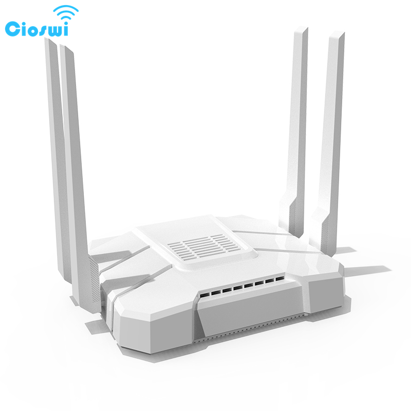 Cioswi Dual Band 1200Mbps Wireless Wifi Router Wide Coverage Stable Wifi Signal Remote Control Access Point With USB SD Slot