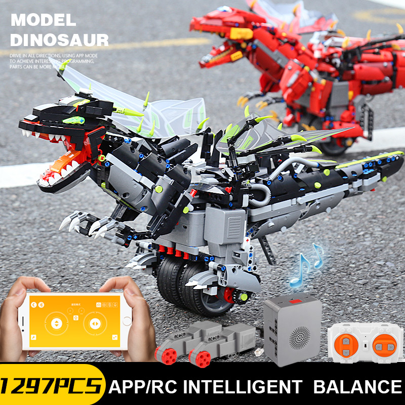 Yeshin App Voice Control Toys With Music Compaitble With 70612 Mecha Dragon Set Building Blocks Bricks Assembly Programming Toys-in Blocks from Toys & Hobbies    2