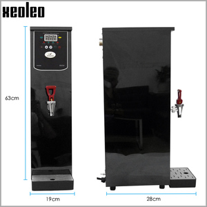 Image 2 - Xeoleo 20L Hot Water dispenser Commercial Hot Water machine 60L/H Black Stainless steel Water boiler for bubble tea shop 3000W