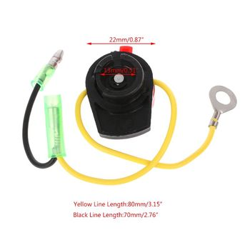Engine Power Stop On Off Kill Switch Control for honda GX110 GX120 GX160 GX200 GX240 35ED image