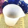 5*7 см Белый силиконовый мерный стаканчик из смолы силиконовая форма ручной работы DIY инструмент для изготовления ювелирных изделий эпоксид...