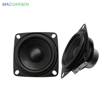 2 inch Audio Speaker Full Range 4 8 ohm 10W 5W Portable Computer TV PC Bookshelf Speakers 53mm Music Bluetooth Loudspeaker 2pcs