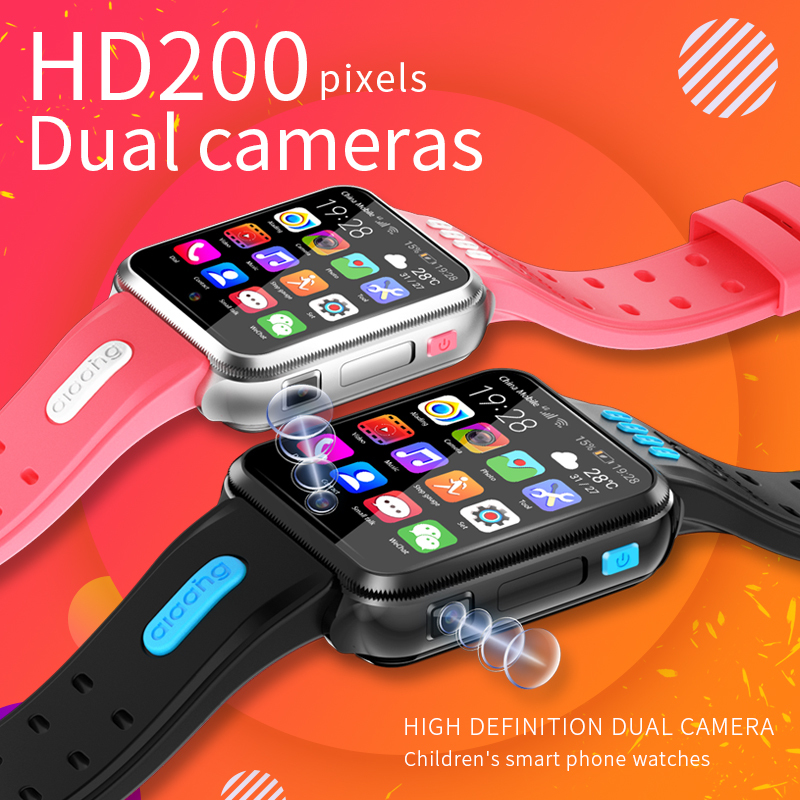 H1 Waterproof <font><b>Kids</b></font> <font><b>Smart</b></font> <font><b>Watch</b></font> SOS Antil-lost Smartwatch Baby 4G SIM Card Clock Call Location Tracker Smartwatch PK Q50 Q90 <font><b>Q528</b></font> image