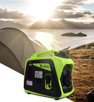 Small 1000w portable silent camping boating fishing external gasoline power inverter generator set