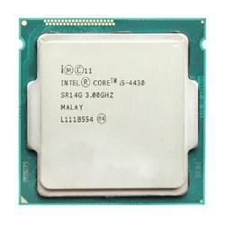 Intel Core I5 4430 I5 4430 3.0 GHz 6 MB Socket LGA1150 Quad-Core Quad Benang 4 Core 4 benang Prosesor CPU SR14G