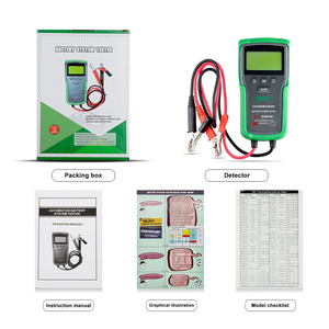 Image 5 - جهاز اختبار بطارية السيارة DY2015A ، 12 فولت ، 24 فولت ، حمض الرصاص ، CCA ، شحن البطارية ، اختبار رقمي ، سعة بطارية السيارة
