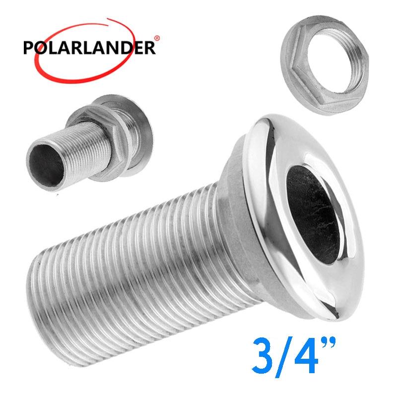 Connector Water Drain Accessories Drain Pipe Tube 3/4
